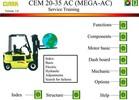 Thumbnail Clark Electric Truck CEM20/25/30/35AC Workshop Manual
